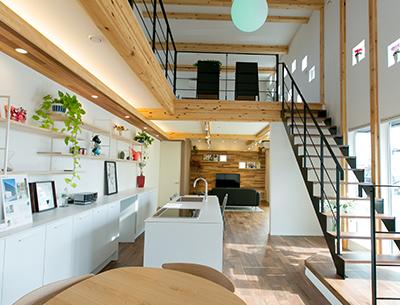 豊富な施工実績、魅力に富んだショールームで理想のわが家をイメージしやすい